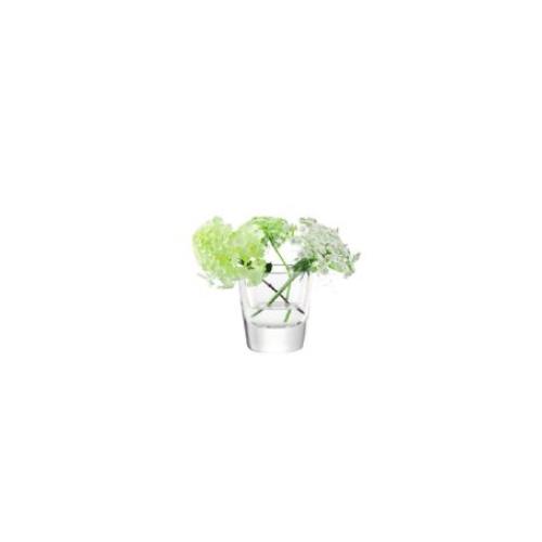 LSA International OTTO[オットー] フラワーベース 花瓶 クリア ガラス 高さ12cm※金額にかかわらず送料がかかります。※代引き・包装・同梱不可