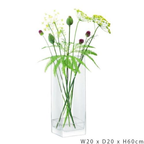 LSA InternationalMODULAR[モジュラー] フラワーベース 花瓶 クリア ガラス高さ60cm※メーカーより直接お届けするため、お買上げ合計金額にかかわらず別途送料を設定しております。 【メーカー直送品のため、代引き・ラッピング・同梱不可】