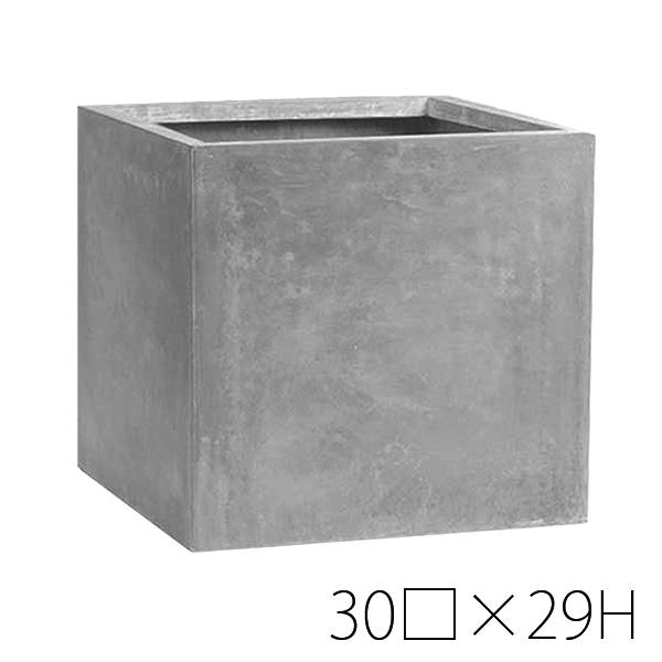 Cube 鉢 29プランター \3%オフクーポン!/Clay ※代引き・同梱不可 terracotta テラメント 大型 TERRA-MENT