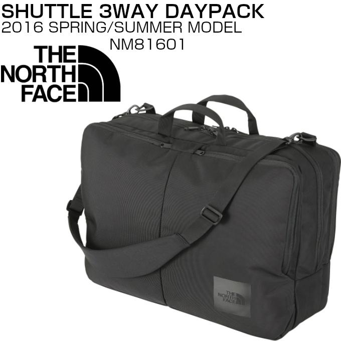 ザ ノースフェイス3WAYデイパック 多機能 ビジネス 通学 通勤 ブラックTHE NORTH FACE SHUTTLE 3WAY DAYPACK NM81601【送料無料対象外 北海道、九州、四国、沖縄・離島は対象外】