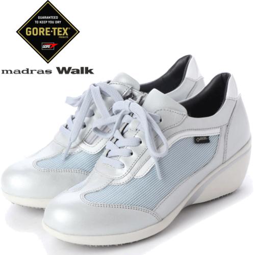 送料無料 madras walk マドラスウォーク レディース MWL1009 SIL ヒールスニーカー 靴【防水】【3E】ゴアテックス フットウェア madras Walk MWL1009【沖縄・離島は送料無料対象外】