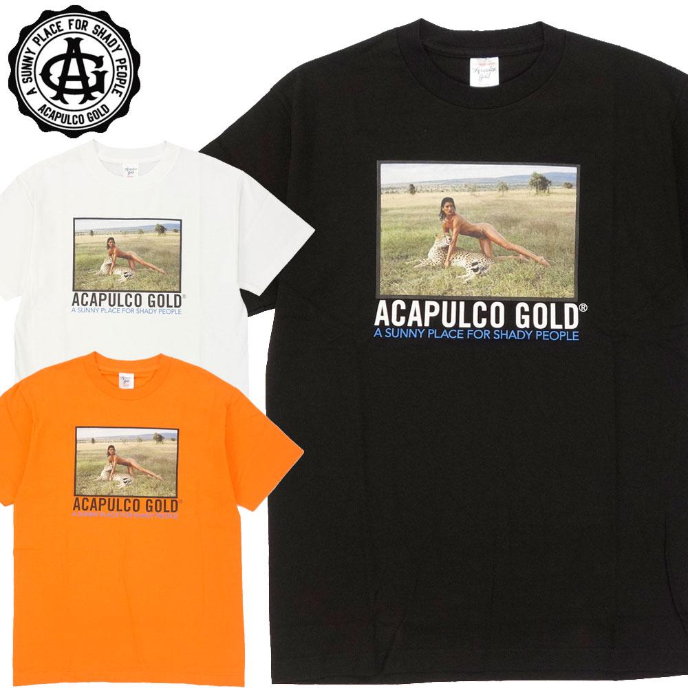 Acapulco ランキング総合1位 Gold アカプルコゴールド TEE LEOPARD 半袖Tシャツ 定番スタイル