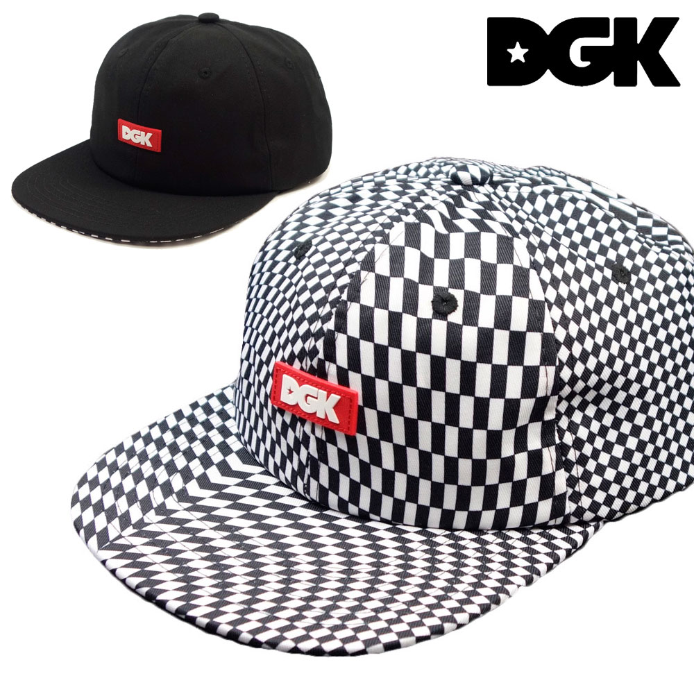 DGK ディージーケー ILLUSION STRAPBACK 『1年保証』 CAP ストラップバックキャップ 帽子 小物 ストリート系 メンズ ファッション スケーター系 レディース 期間限定で特別価格