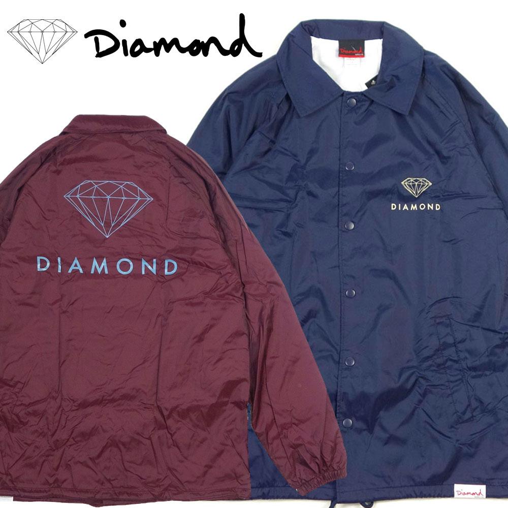 【Diamond SUPPLY CO./ダイヤモンドサプライ】コーチジャケット/COACHES JACKET C17DMPK10