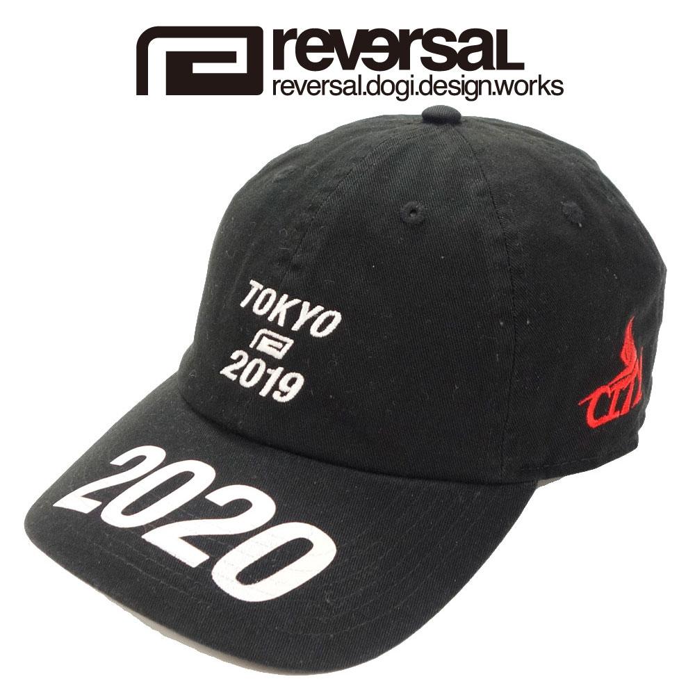 reversal リバーサル 公式ストア 6パネルキャップ ローキャップ 国内送料無料 TOKYO CAP 2019 LOW