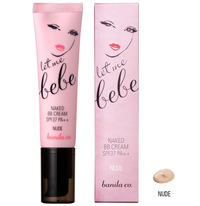 let me bebe NAKED BB CREAM NUDE レットミーベベネイキド BB cream nude SPF37 PA++ 30 ml Korean cosmetic / Korean cosmetic / Korea Koss /BB cream /bb