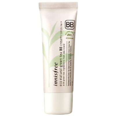 生态天然绿茶 BB 霜生态自然绿茶 BB 霜 SPF29 / PA + + 40 毫升韩国化妆品和韩国化妆品和韩国 COS /BB 霜 /bb