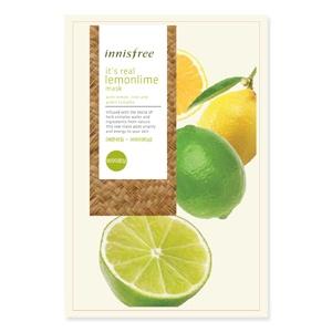 它是真正的掩码 lemonlime 它是真正的柠檬石灰面膜韩国化妆品 / 韩国化妆品 / 韩国 COS BB 霜 BB