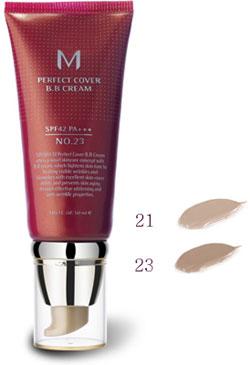 .21 M perfect cover BB cream NO SPF42 PA++ 50 ml Korean cosmetic / Korean cosmetic / Korea Koss /BB cream /bb