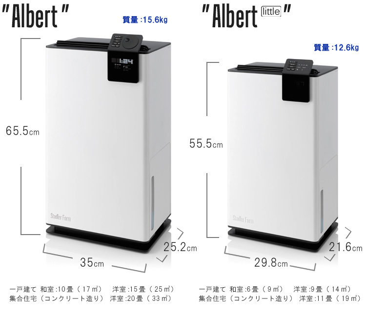 Stadlerform Albert little (little Albert) designs dehumidification dry unit compressor system (ENT)