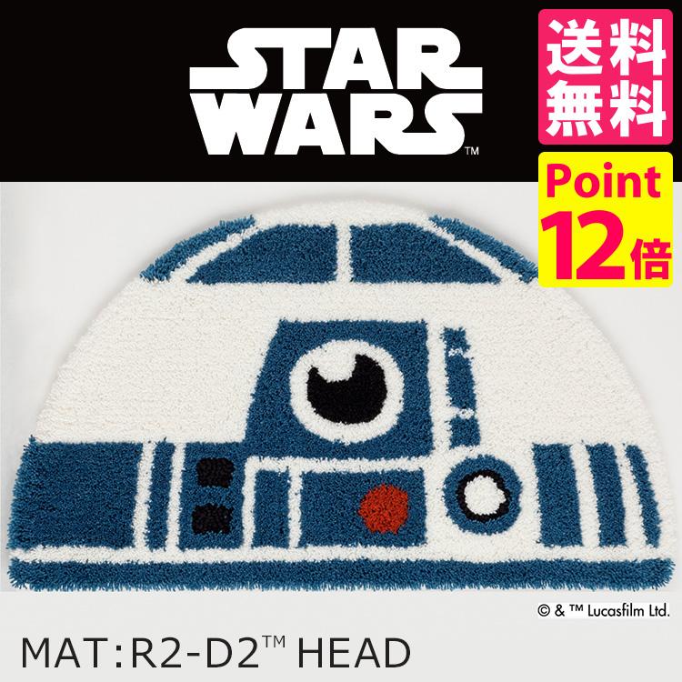 STARWARS R2-D2 HEAD MAT floor mats / Star Wars DMW-4010