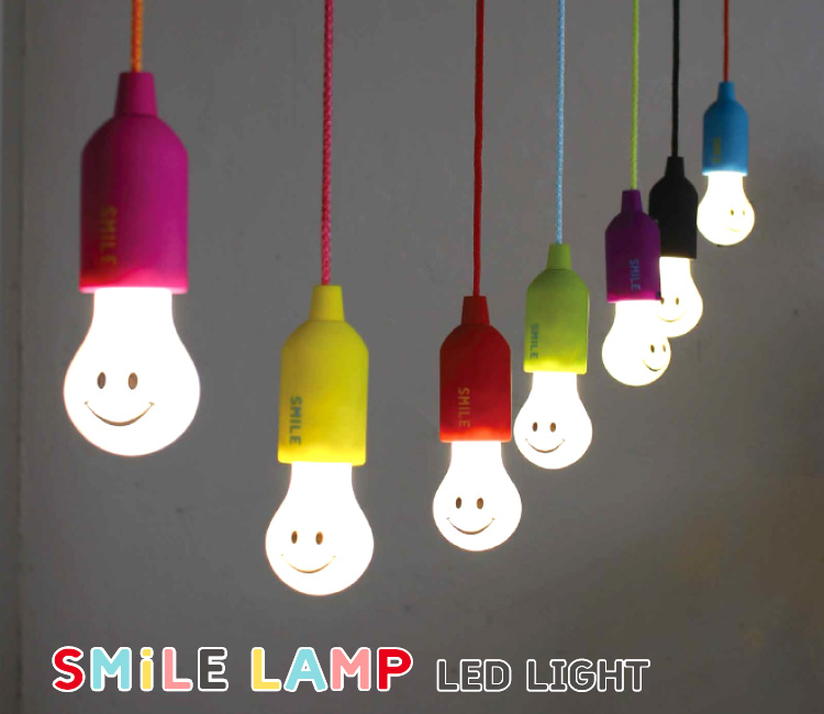 Interior flaner shop rakuten global market smile lamp led light no outlet required bulb type smile led lamps can be smiling aloadofball Image collections