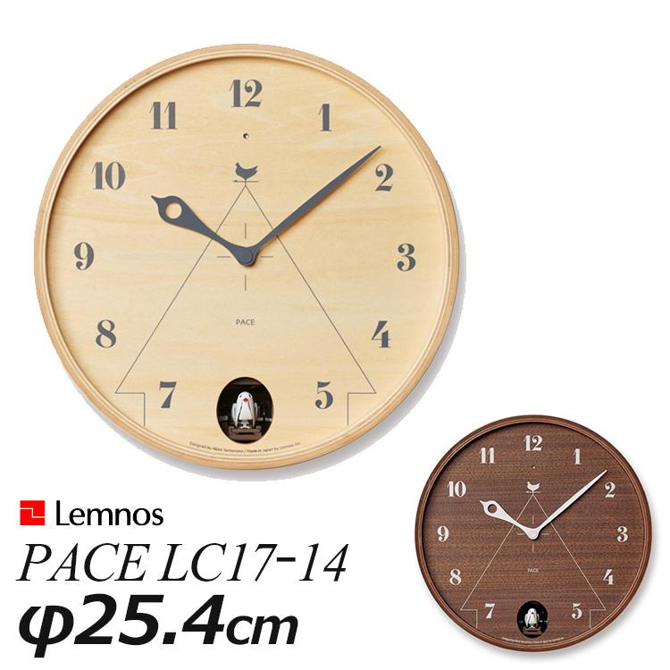 5%OFF ちょっとトロンプイユを思わせるカッコー時計 遊び心に溢れています Lemnos PACE パーチェ LC17-14 壁掛け鳩時計 直径254mm 送料無料 ポイント12倍 17 9 激安卸販売新品 海外× タカタレムノス お取寄せ確認