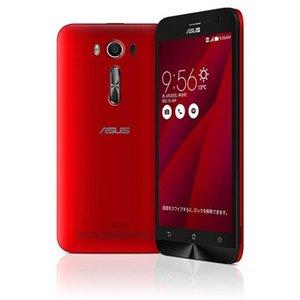 【リファービッシュ品】ASUS SIMフリースマートフォン ZenFone 2 Laser(Qualcomm Snapdragon 410/メモリ 2GB)16GB レッド