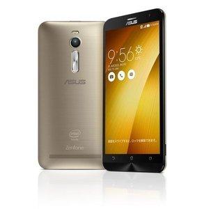 【リファービッシュ品】ASUS ( SIMフリー / Android5.0 / 5.5型ワイド / デュアルmicroSIM / LTE )ASUSTek ZenFone2 (ゴールド, 4GB/32GB)