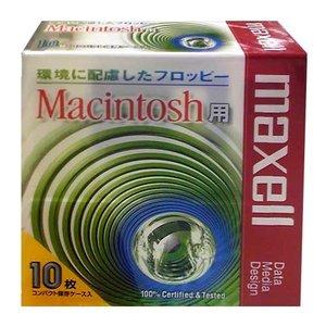 【生産終了品・在庫限り】 マクセル 3.5インチ 2HD フロッピーディスク Macintosh用フォーマット済 10枚パック MFHDMAC.C10P