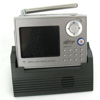 カメラ機能も備えたTV/ビデオ/音楽データ対応の携帯型マルチプレーヤーV@MP MPM-101 NHJ