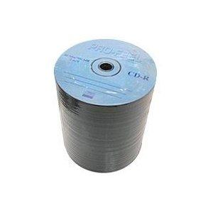 ※処分価格の為、返品交換等の対応ができませんのでご注意ください。(相性交換不可)  【2000枚・送料無料】PRO-FEEL CD-R 700MB 100枚 52倍速対応 エコパック PF CDR700 52X100PM 処分セール!