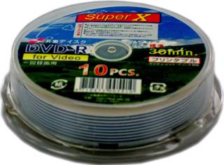 ☆800枚まとめ買い☆送料無料☆ SuperX データ・アナログ録画用 8cm DVD-R 30分 等倍速対応 10枚 SX DVR30 1XPW 10PS