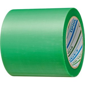 *受発注*ダイヤテックス 粘着テープ 塗装養生用 100mm×25m 緑1セット(18巻)