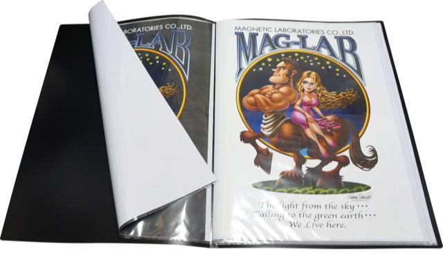 *7枚セットお買い得*ポスター保存の決定版 B2クリアファイル(ブラック)