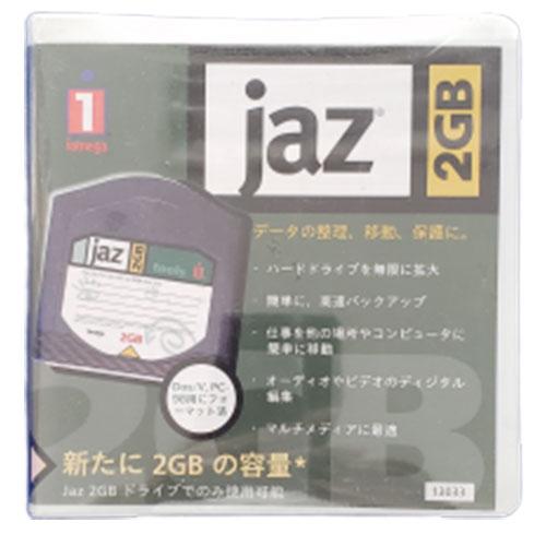 【アウトレット】 IOMEGA JAZディスク 2GB Dos/V PC-98(Windows)用 13033