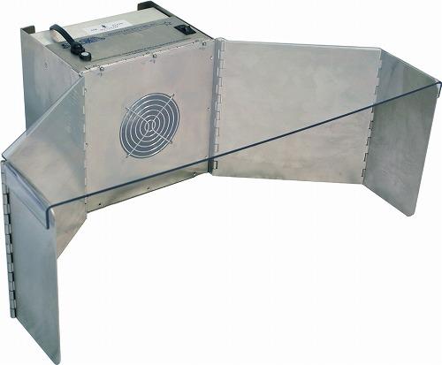 *受発注* HIDISC 卓上型空気ろ過システム ステンレスウイング付