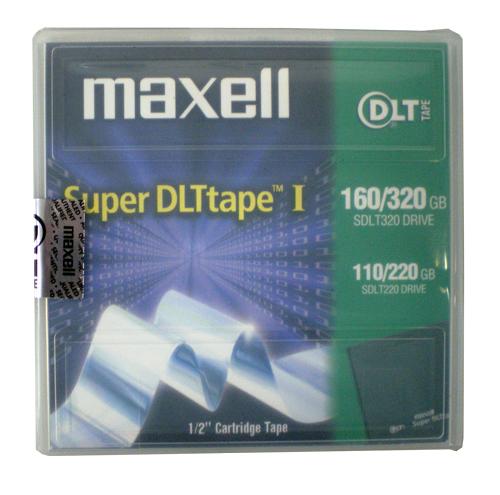 【生産終了品・在庫限り】 マクセル SuperDLT Tape1 大容量磁気テープカートリッジ 220/320GB