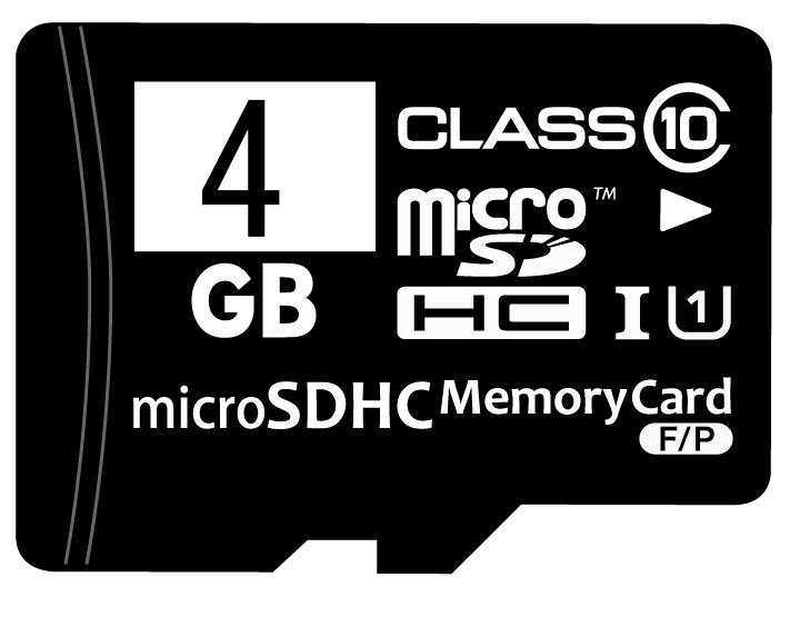 ☆バルク品☆microSDHCカード Class10 信託 UHS-I対応 4GB SD変換アダプター MFMCSDHC10X4G_BULK 返品交換不可 4個までメール便OK プラケース付き ランキングTOP5
