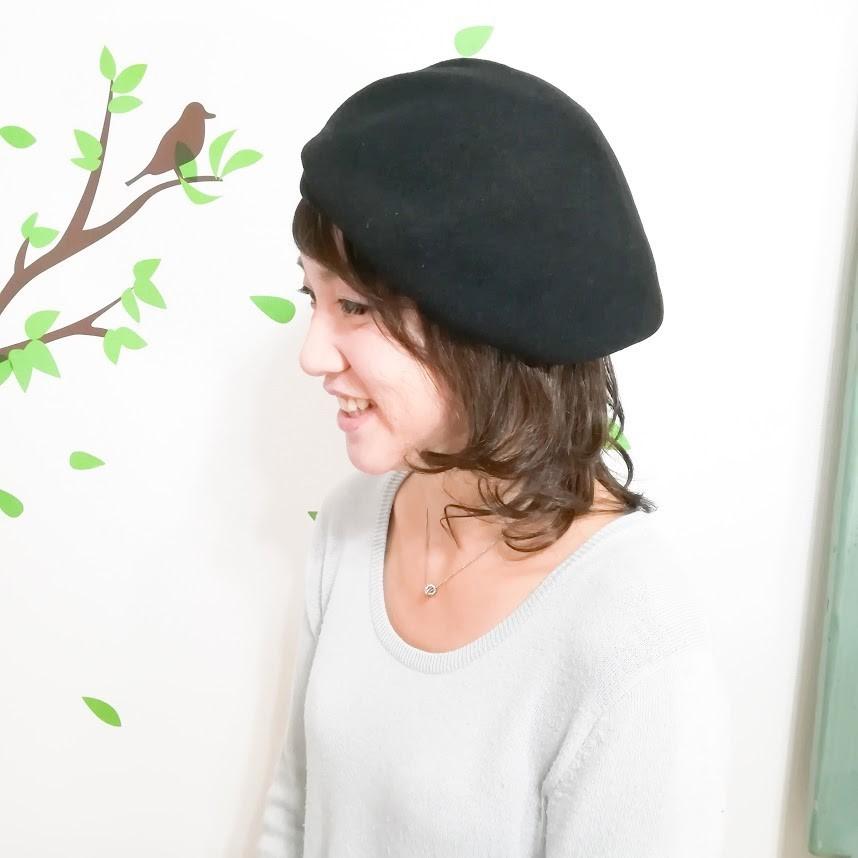 MIX毛ウィッグ型帽子つけ毛【カールスタイル】