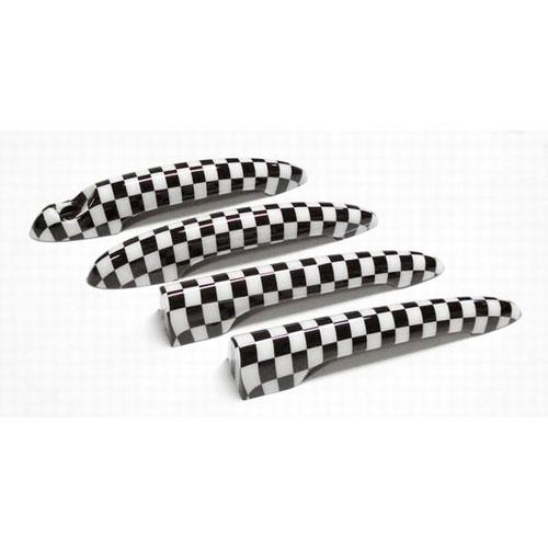 BMW MINI ミニ R55ドア 驚きの値段 テールゲート チェッカー CLOS ハンドルカバーセット STYLE キャンペーンもお見逃しなく