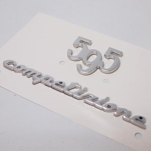ABARTH(アバルト)純正 595 competirione エンブレムセット