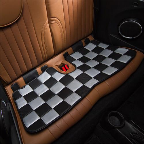 BMW MINI(ミニ)ロングシート【チェッカー】(カーボン)【CABANA】