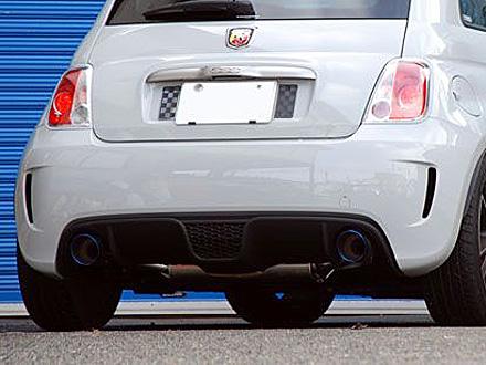 ARQRAY FIAT500 ABARTH スポーツマフラー(Titanium Tail)