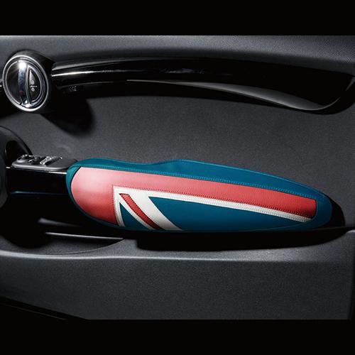 BMW MINI(ミニ)F56/F57ドアアームレストカバー ユニオンジャック フルカラー【CABANA】