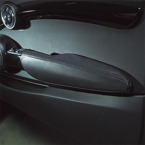 BMW MINI(ミニ)F56/F57ドアアームレストカバー ワンカラー(カーボン)【CABANA】