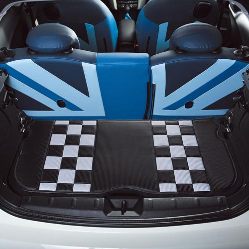 BMW MINI(ミニ)F56/F55/F54/F60ラゲッジシート カーボンチェッカー【CABANA】