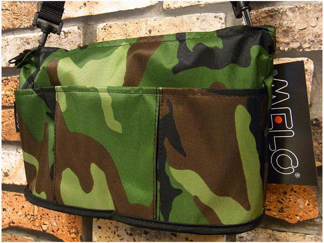 【アメリカ製】 MELO RB11 SMALL OVAL SHAPED BAG (WOODLAND CAMO/迷彩)  ~メロ スモール オーバル シェイプド バッグ USA/アメリカ製~