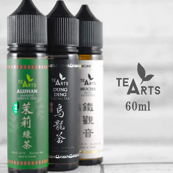 TEA ARTS 60 ml free electronic cigarette vape liquid tea oolong tea iron  Marika Kannon tea jasmine tea ベソスデザインティーアーツ DUNG