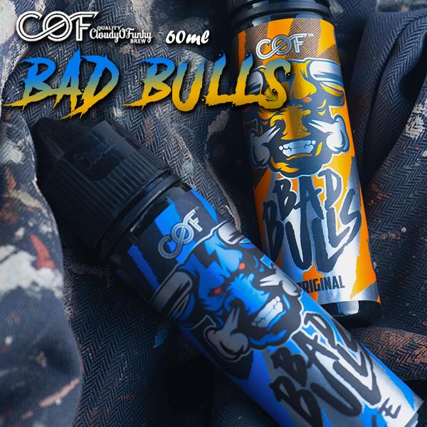 cloudy o funky bad bulls バッドブルズ vape リキッド 電子タバコ Cloudy O BadBulls Funky Bad マレーシア ミント 再再販 メール便無料 Bulls 60ml メンソール クラウディーオーファンキー バッドブル 新作 大人気