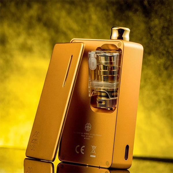 dotmod dotAIO KIT ドットモッドドットエーアイオー electron cigarette vape mod aio kit set  technical mod box mod tank chestnut allohigh-end with 18650 battery