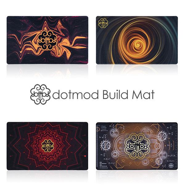 dotmod 新作通販 ビルドマット ドットモッド vape アクセサリー マット 返品不可 ビルド ロゴ入り 電子タバコ