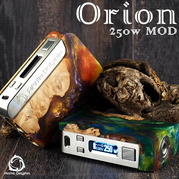 ArcticDolphin Arctic Dolphin 送料無料 アークティックドルフィン オリオン スタビライズドウッド BOXMOD Orion 250W Box Mod