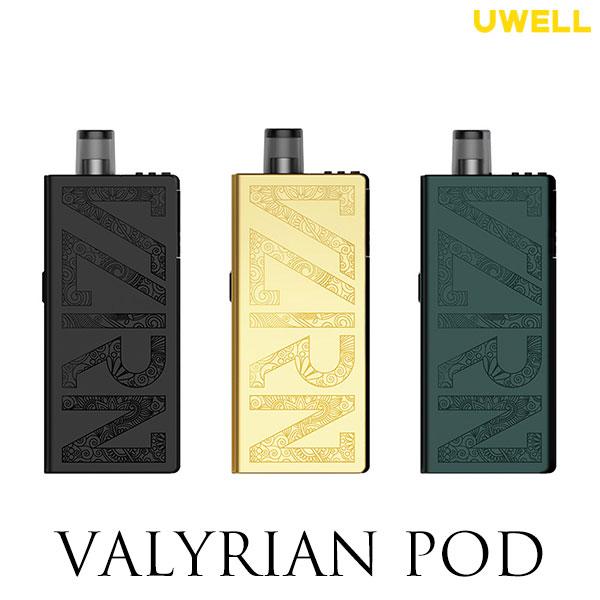 UWELL Valyrian POD ユーウェル バリリアン vape pod型 ポッド 日本未発売 ヴァリリアン DL 電子タバコ 通販 MTL KIT DTL