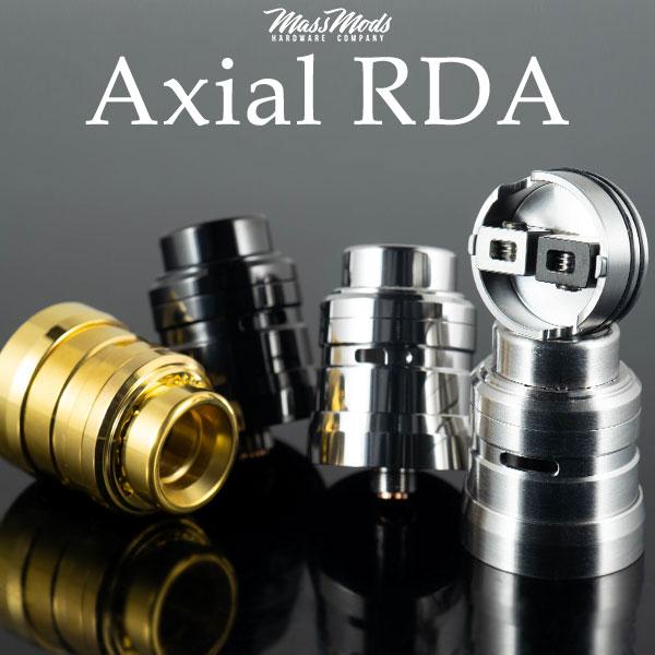 Mass Mods Axial RDA マスモッドマスモッズアクシアルアクシャル electron cigarette vape atomizer  RDA dripper single dual 23mm in diameter 25mm BF スコンカー correspondence