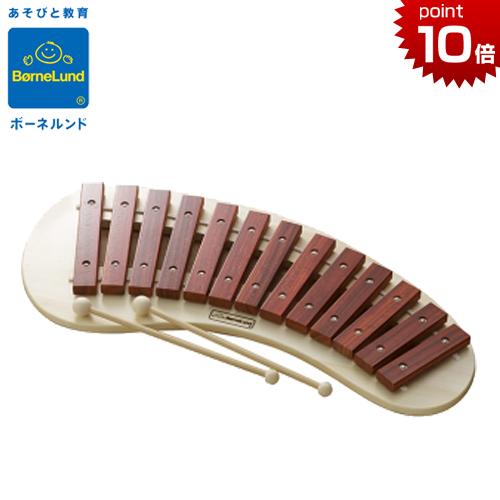 正規品 ボーネルンド [パレットシロフォン] 木製玩具 シロフォン 木琴