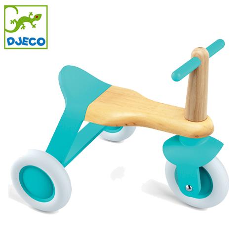 正規品 DJECO(ジェコ) [ブルー ロール イット] 足けり バイク 三輪車