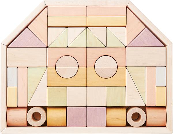 Ed.Inter(エドインター) NIHONシリーズ [つみきのいえ L] 積み木 つみき 木製玩具 木のおもちゃ
