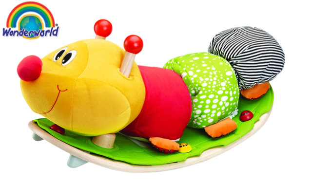 木のおもちゃ[送料無料]wonderworld(ワンダーワールド) [ロッキング・ケーター] 木のおもちゃ 木製玩具 おもちゃ 乗り物 乗用玩具