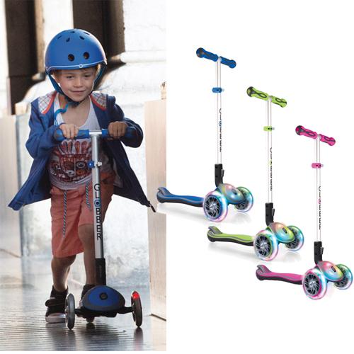 正規品 プレゼント付き GLOBBER(グロッバー) [エリート フラッシュ] 乗用玩具 足けり バランスバイク キックバイク